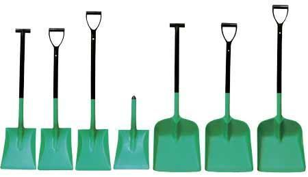 Polypropylene Safety Shovels