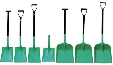 Polypropylene Safety Shovels