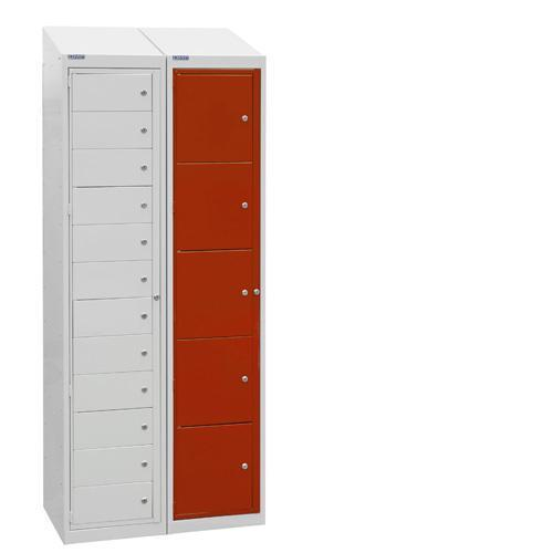 Garment Collection Lockers 10 Doors - 1800x380x450mm