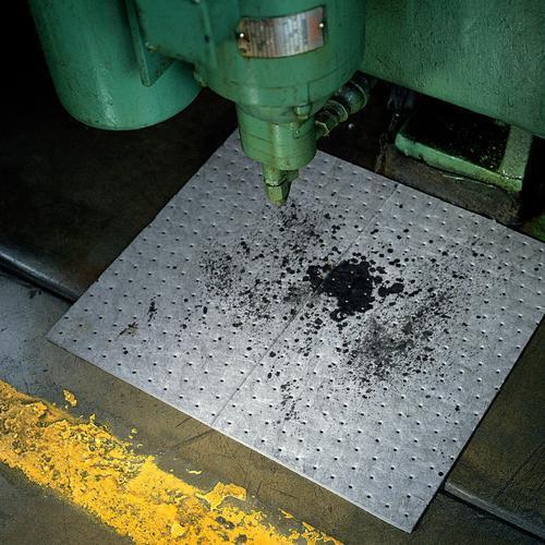 Pig Absorbent Mat Pads Spill Response Key