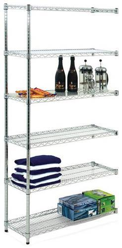 Chrome Wire Shelving Extension Bay
