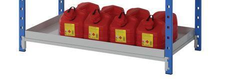 Shelf Tray for Easy Store Tubular Shelving