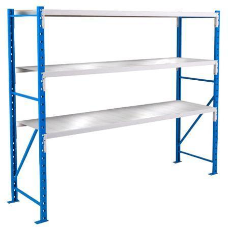 Longspan Shelving Heavy Duty with Steel Levels - Starter Bay