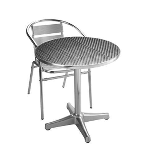 Aluminium Bistro Set with 2 Chairs