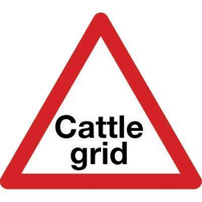 Cattle Grid Class 2 Sign