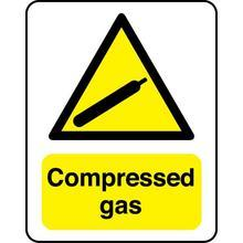 Compressed gas Chemical Substance Sign