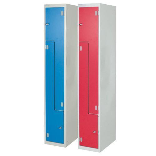 Z Door Laminate Lockers - 1800x450x450mm