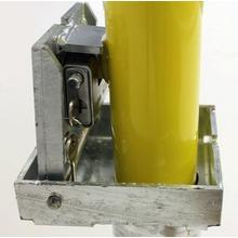 Ref. 128A085N, retaining pin with security padlock