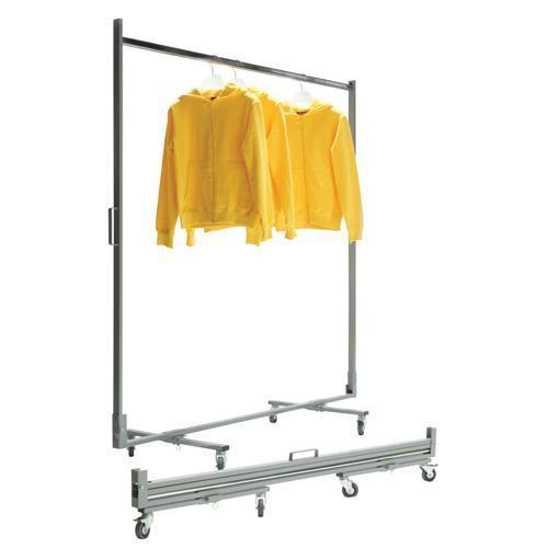 Collapsible Mobile Clothes Rail