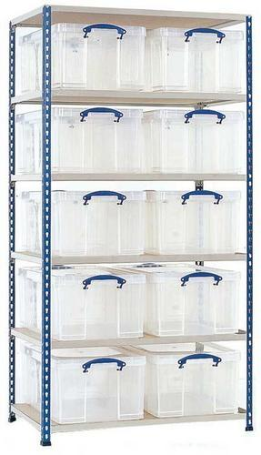 Really Useful Box Bays with 35ltr or 64ltr Clear Boxes