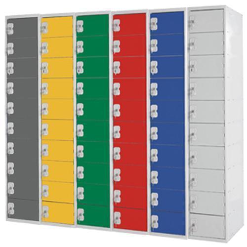 Personal Effects Lockers 10 Door - 1800x300x300mm