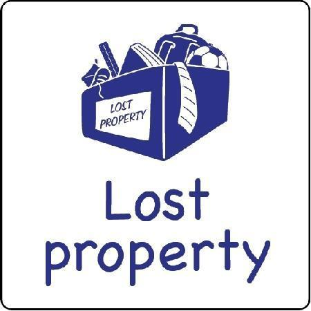 Lost Property Sign - Key