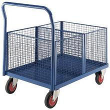 Wire Trucks with Removable Baskets