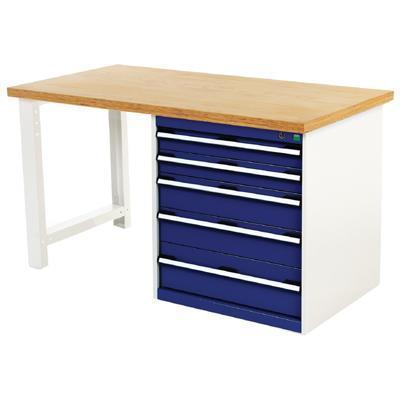Bench With 5 Drawers Workbenches Key