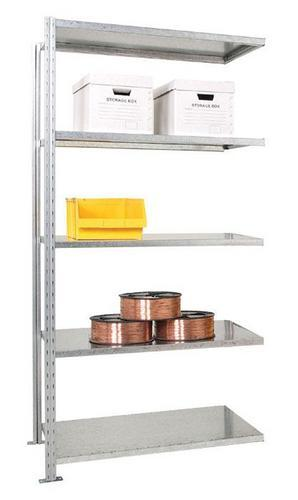 Advanced galvanised Shelving - Extension Bay