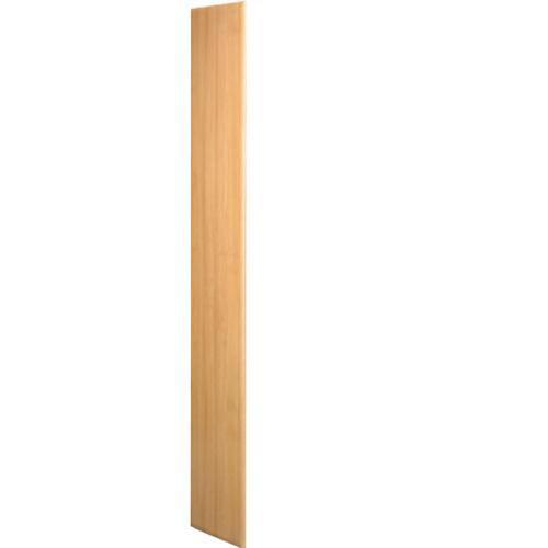 End Panel for Wood Effect Laminate Lockers - 1800x300x450mm
