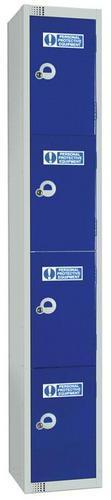 PPE Lockers 4 Door - 1800x300x300mm