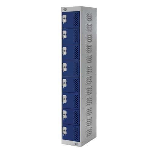 Tool Charging Lockers 8 Doors - 1800x300x300mm