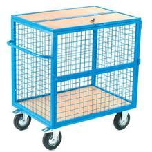 4 Sided Trucks With Lockable Lids