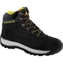 Black Nubuck Boots