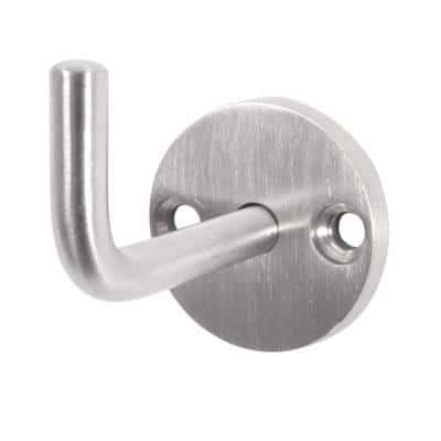 Altro Single Coat Hook - Satin Stainless Steel