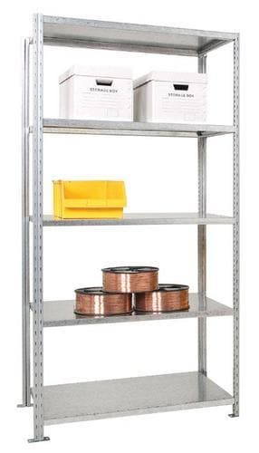 Advanced galvanised Shelving - Starter Bay