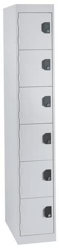 6 Tier Commercial Lockers