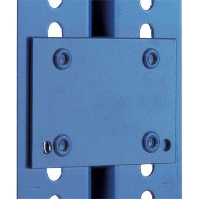Tie Plates for Rapid 2 Medium Duty Shelving - Set of 4