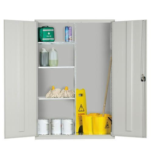 Extra Wide Janitorial Cupboard