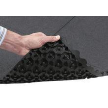 Solid Interlocking Anti-Fatigue Tiles
