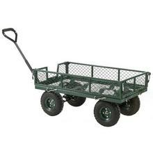 Mesh Turntable Truck with Drop Down Sides