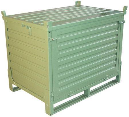 Steel Folding Pallet Box