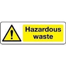 Hazardous waste Chemical Substance Sign