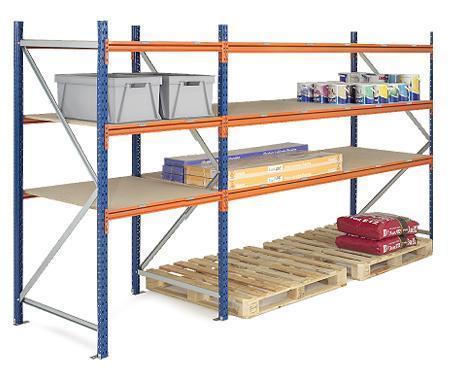 Longspan Shelving Extra Heavy Duty - Extension Bay