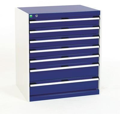 Bott Cubio Drawer Cabinets WxD 800x650mm