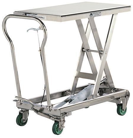 Bishamon Stainless Steel Lift Tables