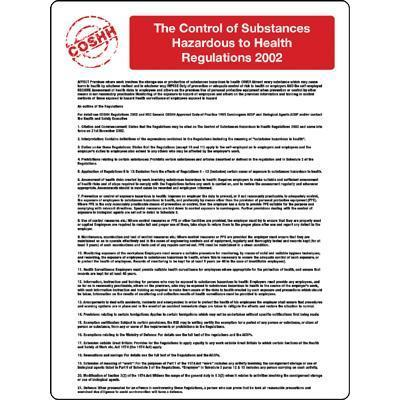 The Control of Substances...2002 Poster