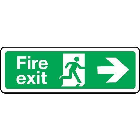 Fire exit Sign - Arrow Right