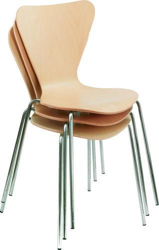 Harvard Beech Stackable Meeting Room Chair