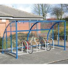 Clear View Cycle Shelters
