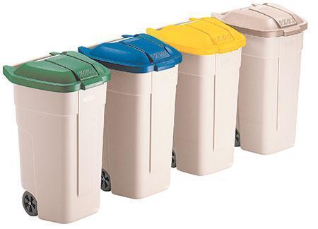 Mobile Waste Separation Bins