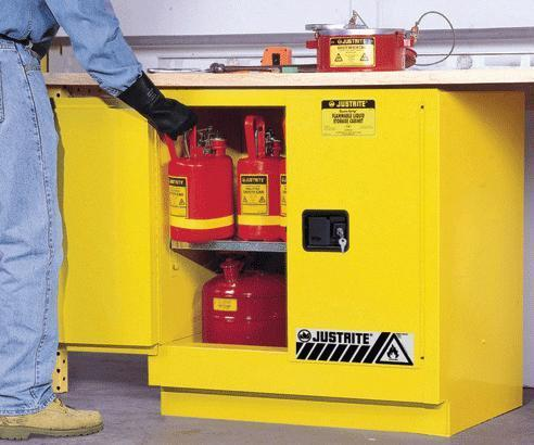 Under Counter Flammable Material Storage Cabinet - 889x889x559mm