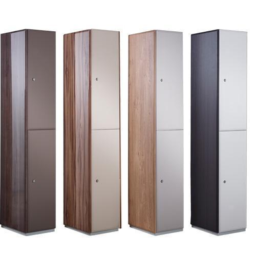 Executive Lockers 2 Door - 1800x380x380mm
