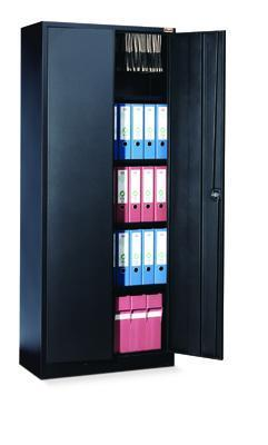 Economy Metal Office Cabinets - 1800mm Height