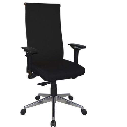 Crane High Back Office Chair with Square Back