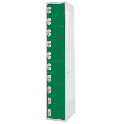Personal Effects Lockers 10 Door - 1800x300x450mm