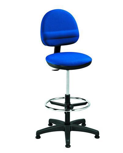 Fabric Draughtsman Chair
