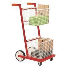 Mailroom Trolley - 2 Baskets
