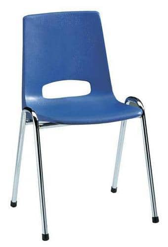Stackable blue plastic chairs free delivery key for Blue plastic chair