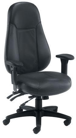 Adur Heavy Duty Leather Executive Office Chair